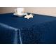 Скатерть 180х140 Ричард рисунок 1812 цвет синий