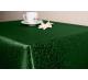 Скатерть прямоугольная ткань Ричард 1812 цвет зеленый