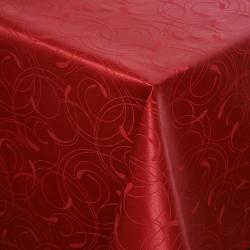 Скатерть 180х140 Ричард рисунок 2131 цвет бордовый