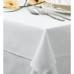 Скатерть 180х140 ткань Profline Турция цвет белый