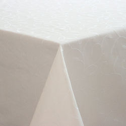 Скатерть 180х140 ткань Liza Турция цвет шампань