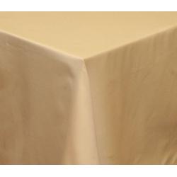 Скатерть 180х140 ткань Saten Испания, цвет 51 ванильный