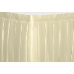 Фуршетная юбка на стол цвет шампань коэффициент складок 1:3